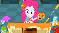 Pinkie Pie continues to paint SS10