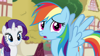 Rainbow Dash confused S4E21