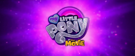 My Little Pony The Movie trailer logo MLPTM