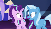 Starlight and Trixie look at each other S7E2