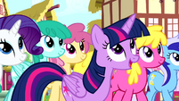 Twilight 'We're so lucky to have you here' S4E12