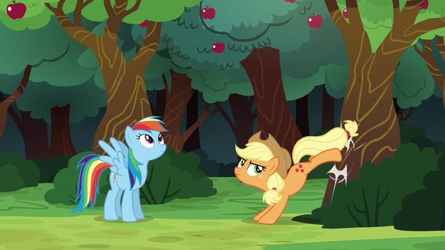 File:Applejack bucking the apple tree again S6E18.png
