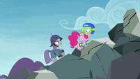 Maud Pie saving Pinkie Pie S4E18