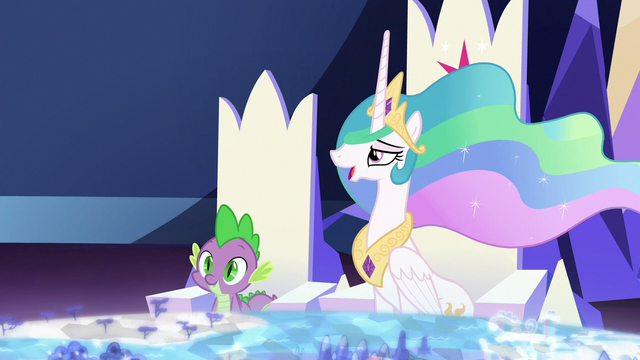 "File:Celestia ""you have an overachieving student"" S7E1.png"