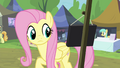 Fluttershy notices Stellar Eclipse's sign S4E22.png
