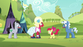 Orchard Blossom unable to jump S5E17.png