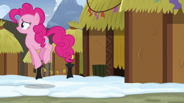 File:Pinkie Pie hopping away from a mud hut S7E11.png
