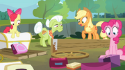 The Apples and Pinkie sees the damage S4E09.png