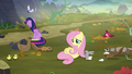Animals gathering around Fluttershy S5E23.png
