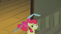 Apple Bloom walking up the stairs S2E06.png