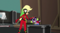 Applejack scratching Spike on the head EGS2.png