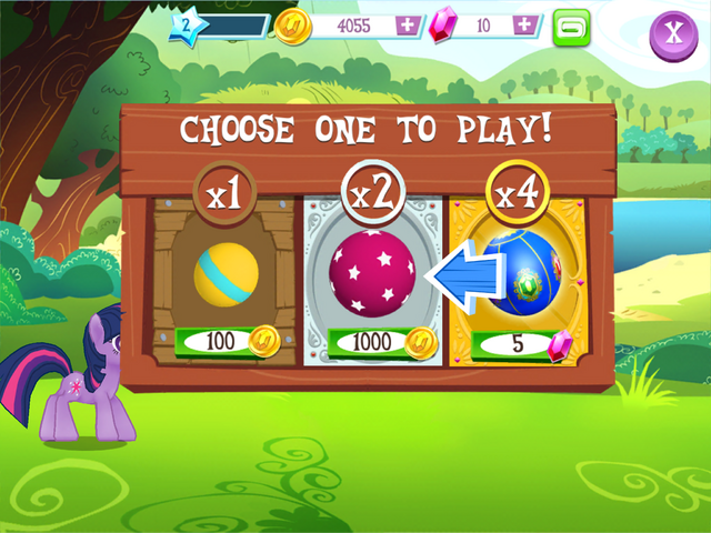File:Ball Bounce minigame ball choice MLP Game.png