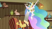 Discord imitating Princess Celestia S6E17