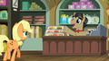 Filthy Rich pleased to see Applejack S6E23.png