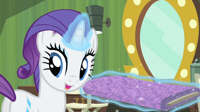 File:Rarity 'Oh, not at all!' S4E08.png