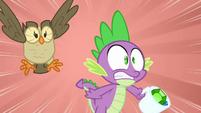 Spike panicking over Angel S03E11
