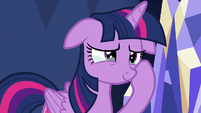 Twilight Sparkle tearing up with pride S7E2
