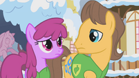 Berryshine and Caramel look at each other S1E11