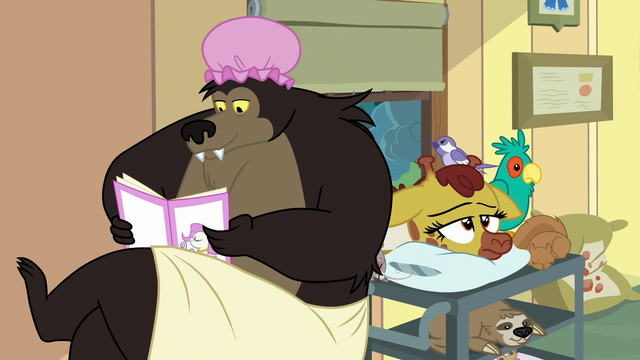 File:Grizzly bear reading a magazine S7E5.png