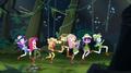 Mane Seven run through the jungle EGS1.png