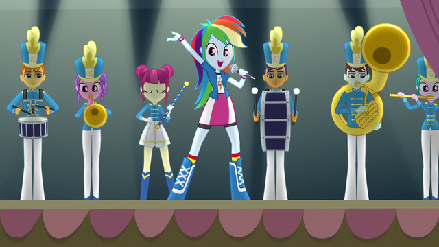 "File:Rainbow Dash ""Come cheer our name"" EG3.png"