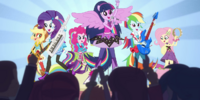 My Little Pony Equestria Girls: Rainbow Rocks/Animated shorts