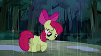 Apple Bloom listening to her friends S5E6
