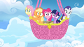 Main ponies in balloon afraid S3E07.png