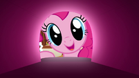 Pinkie Pie looks inside the mailbox S3E07