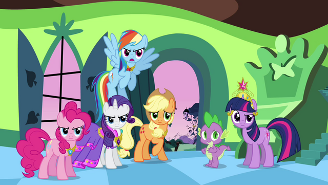 "File:Rainbow Dash ""oh, give it a rest!"" S03E10.png"