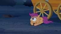 Scootaloo on the ground S3E06