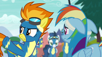"""Spitfire """"put other ponies at risk"""" S6E7"""