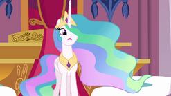 Celestia informs Twilight about the Crystal Empire S3E01