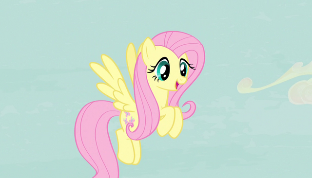 """File:Fluttershy """"the most pleasant place in Equestria"""" S5E1.png"""