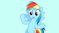 "Rainbow ""the anniversary of when I moved to Ponyville"" S4E12"