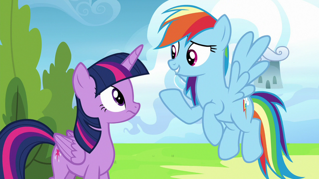 """File:Rainbow """"wouldn't want to mess with their confidence"""" S6E24.png"""