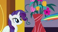 Rarity sees Rainbow fly off S5E15