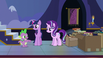 """Spike """"we don't all have magical horns"""" S6E25"""