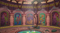 Temple chamber with seven doors S6E13