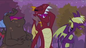 Three dragons laughing S2E21