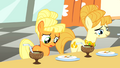 Young Applejack staring at morsels S1E23.png