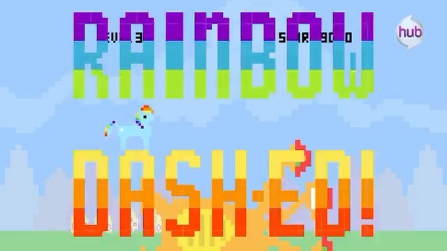 File:Hub Promo - 8 bit commercial Rainbow Dashed.png