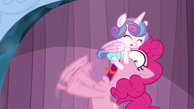 File:Pinkie shocked by Flurry Heart S6E2.png