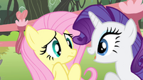 Rarity talks to Fluttershy S4E14