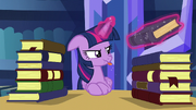 Twilight blowing a raspberry S5E16.png