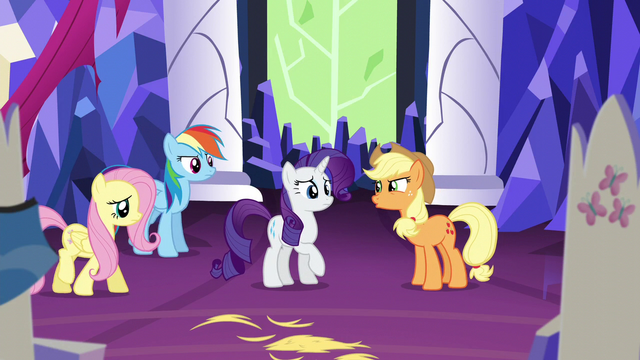 "File:Applejack ""everypony has taken somethin' out except you"" S5E3.png"