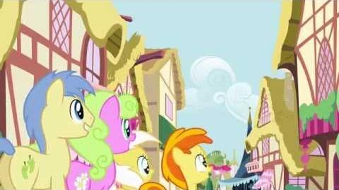 Brazilian Portuguese My Little Pony Pinkie The Party Planner Song HD