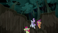 Cutie Mark Crusaders fall into a mudslide S5E6.png