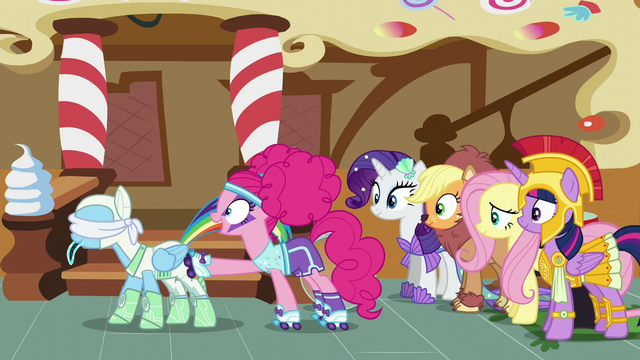 File:Pinkie Pie stops Rainbow's spinning S5E21.png