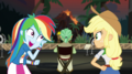 Rainbow Dash whispering to Applejack EGS2.png